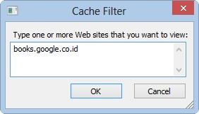 cache filter
