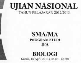 un biologi 2013