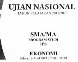 un ekonomi 2013