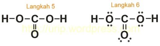 h2co3 lewis struktur
