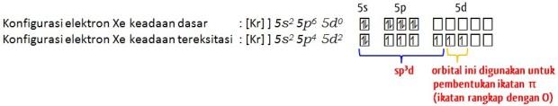 hibridisasi XeO2F2 by urip kalteng