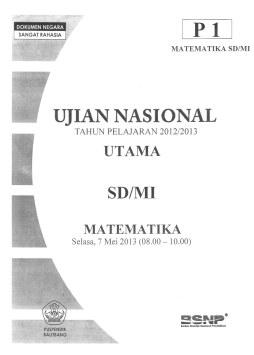 Download Soal Un Sd Mi Tahun 2013 Bahasa Indonesia