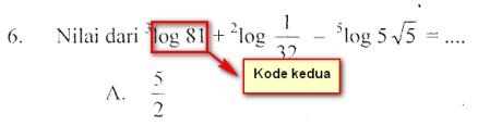 kode kedua mat ips